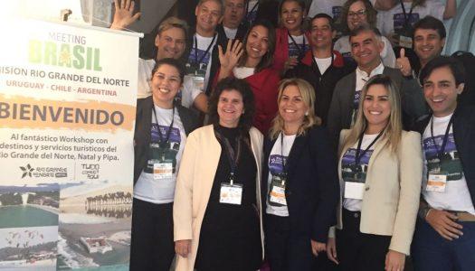 Rio Grande do Norte promove destino em países do Cone Sul